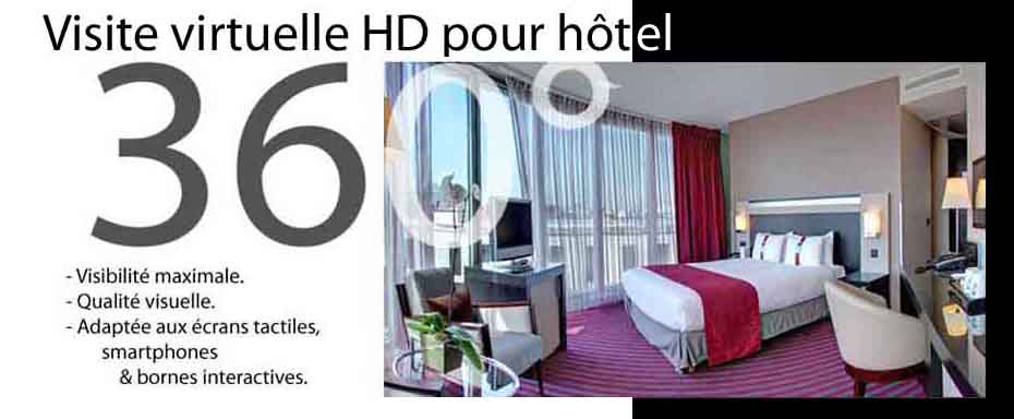 visite virtuelle 360° hotel paris