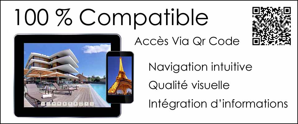 visite virtuelle 360° compatible supports nomades
